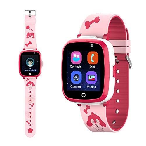 ETPARK Relojes para Niños, Smartwatch para Niños Admite Llamada telefónica SOS Reproducir MP3 Juego Cámara smartwatch Regalo para 3-12 niñas