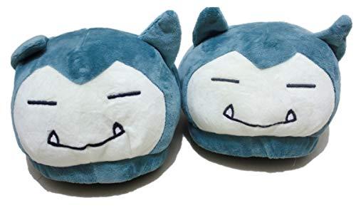 Fungshop Pokemon Snorlax Hausschuhe Indoor Schuhe Niedlich
