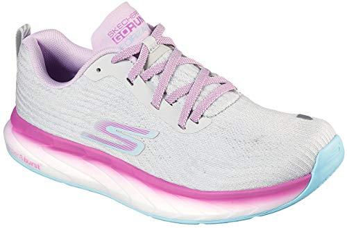 Skechers Women's GOrun Forza 4 Stability Shoe (Gray/Multi
