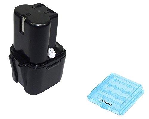 3Ah vervangende accu voor Liveryman Whisper Liscop Equi-Clip Liscop 1500 1600 paarden scheermachine Heiniger Cordless accuschaar rundschaar + GoPacks accu/batterijbox voor 4x Micro/Mignon (AAA/AA) cellen batterij Bateria accu