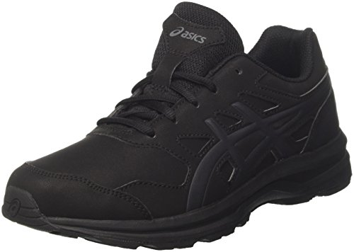 ASICS Herren Gel-Mission 3 Walkingschuhe, Schwarz Black Carbon Phantom 9097, 45 EU
