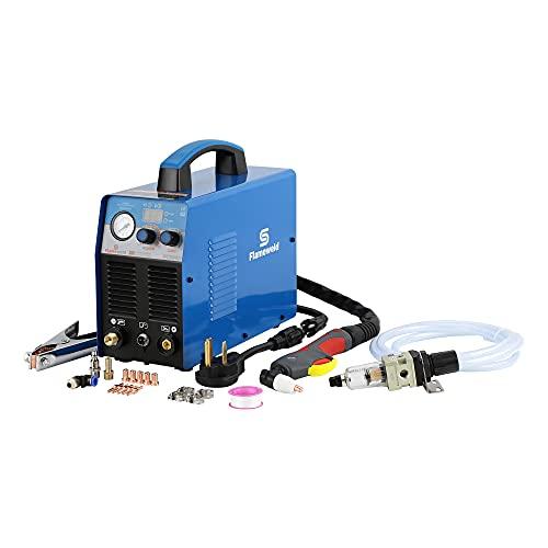 Plasma Cutter, FC500D 50A Plasma Cutter Dual Voltage 110/220V Plasma Cutting Machine Inverter 50/60Hz Clean Cutting Thickness 14mm (FC500D)