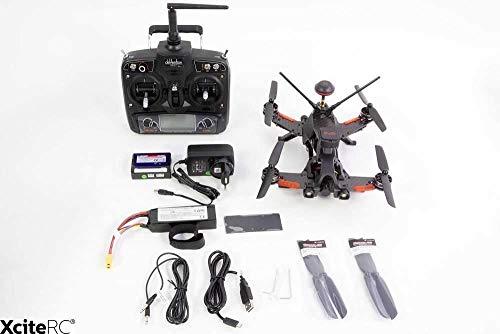 Walkera 15004600–Runner 250Pro Racing Quadricottero RTF–FPV con videocamera HD, GPS, OSD, Batteria, Caricabatterie e telecomando Devo 7