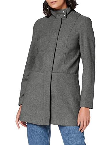 Only ONLCHRISA Life Wool Coat CC OTW Abrigo de Lana, Color Gris, XS para Mujer