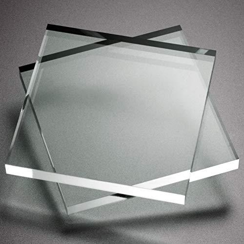 Metacrilato transparente 3mm cristal o vidrio acrílico - varios medidas (50cm x 20cm)
