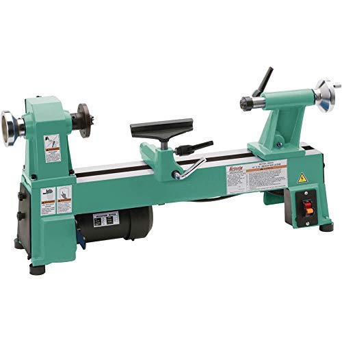 Find Cheap Grizzly Industrial H8259-10 x 18 Benchtop Wood Lathe
