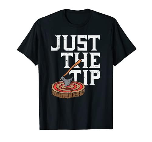 Hacha lanzando - Just The Tip - Hacha - Gran Vikingo Camiseta