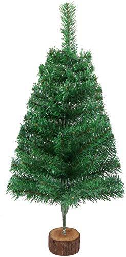 DERAYEE 2ft grüne Weihnachtsbaum künstlicher Tannenbaum Christbaum für Weihnachtsdekoration