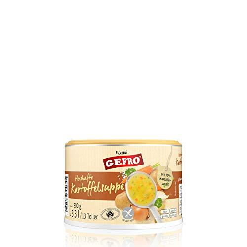 GEFRO Herzhafte Kartoffelsuppe zum Binden, Verfeinern oder eigenständige Suppe (200g)