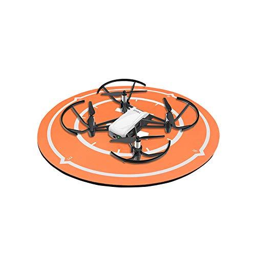 NMD&LR Mini Drone Landing Pad, Impermeabile Shock-Assorbente Tavolo Portatile Asfalto Mouse Pad Adatto per Piccolo Drone Elicottero Giocattoli, 25 Centimetri