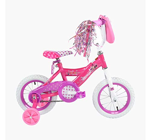 Huffy Disney Minnie Bike 12 - Pink