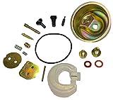 Sellerocity Carburetor Repair Rebuild Kit Compatible with Honda GX160 Needle Valve, Jet Set, Nozzle, Springs, Choke, Throttle, Float, Bowl