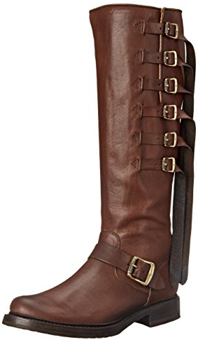 FRYE Womens Veronica Band Tall-tufg Veronica Band Tall-tufg Engineer Boot Bruin Grootte: 5.5 UK