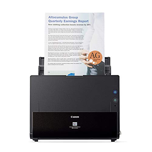Canon imageFORMULA DRC225 II Office Document Scanner Black  3258C002
