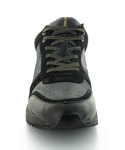 No Name - Zapatillas de Deporte Mujer , Negro (negro), 38