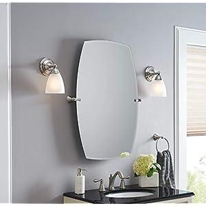 Moen DN6886BN Sage Bathroom Towel Ring, Brushed Nickel
