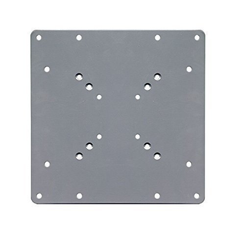 electrosmart 200 x 200 VESA Silver Mount Adaptor Plate - Convert TV Wall Bracket 50/75 / 100 mm