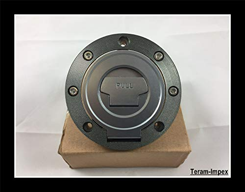 TERAM LOISIRS - Tapa de depósito con llave para Yamaha YZF R1 R6 FZ6 XJR FJR XJ6