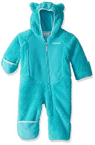 Columbia Kleinkinder Foxy Baby Sherpa-Strampler, Blau (Geyser, Spray), 12 Monats