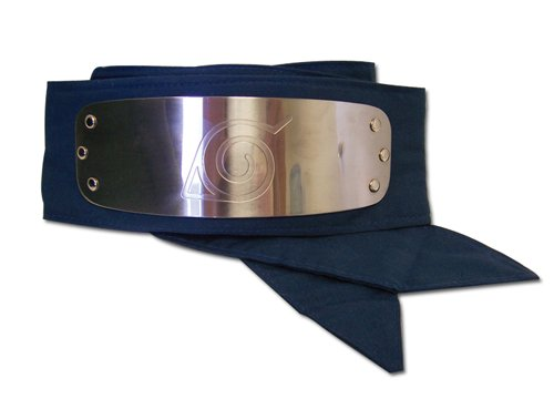 Great Eastern GE-7712 Naruto Leaf Village Logo Headband Cosplay Headband