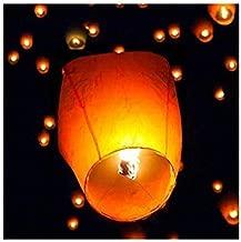 Biche Sky Flying Chinese Lantern Paper Sankranti Fire Kites (Single)