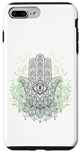 iPhone 7 Plus/8 Plus Yoga and Meditation Pose Hamsa Hand Case