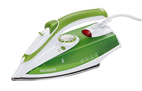 SEVERIN BA 3242 Plancha de Vapor, 2.200 W Aproximadamente, Blanco / Verde