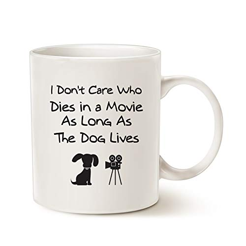 MAUAG Funny Dog Coffee Mug for Dog Lovers Christmas Gifts, I Don