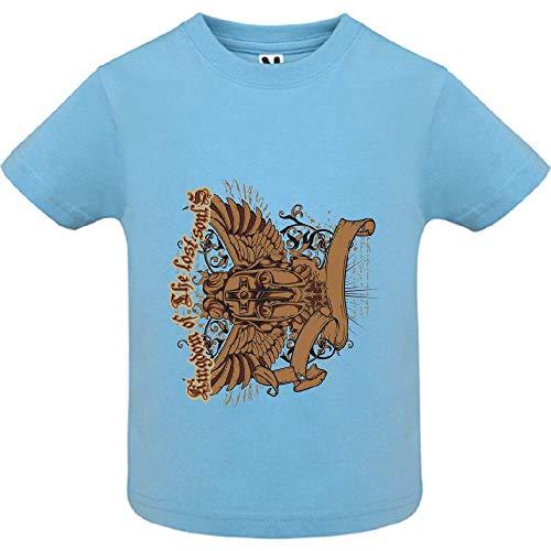 LookMyKase T-Shirt - Lost Soul - Bébé Garçon - Bleu - 18mois