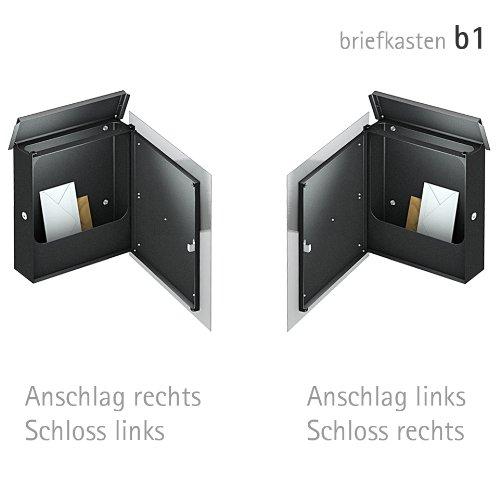 Briefkasten Edelstahl - 4