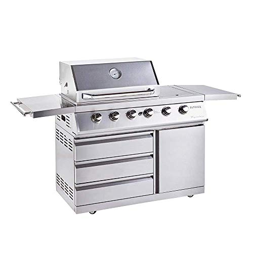 Outback Signiture II 4 Burner Gas BBQ in Stainless Steel