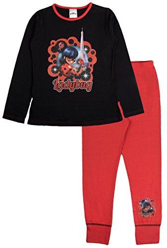 Miraculous Pijama Largo para niñas Rojo Mariquita - Torre