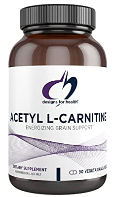 Designs For Health - Acetyl-L-Carnitine 800mg 90 vegetarian capsules