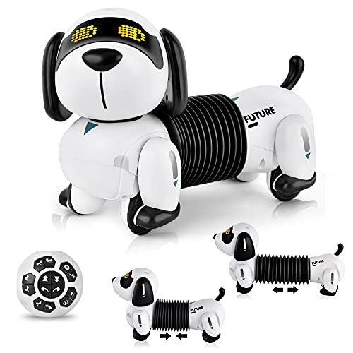 IDEAPARK Robot Dog Toys Robotic Dog For Kids Remote Control Toy With Singing & Dancing Toys For 3+ Year Old Boys And Girls (K22)