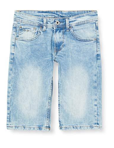Pepe Jeans Jungen Becket Short Badeshorts, Blau (000denim 000), 12-13 Jahre (Herstellergröße: 12)