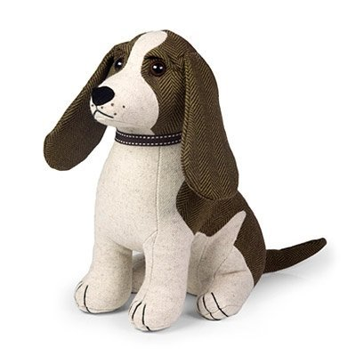 Dora Designs – Spangle the Springer Spaniel – Coleccion Pedigree – Tope para puerta de perro acolchado de tela