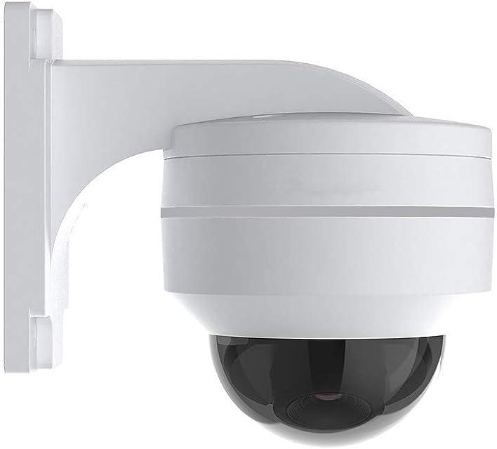 H.VIEW PoE IP PTZ Cámara de vigilancia 5 MP FHD ONVIF 5X zoom óptico 3.05-155 mm cámara de seguridad giratoria para exterior IP67 IR visión nocturna detección de movimiento