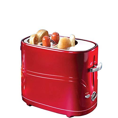 JM- Máquina del Desayuno, máquina casera del Desayuno Máquina automática del Pan de la Salchicha del Perrito Caliente De múltiples Funciones con un Solo botón