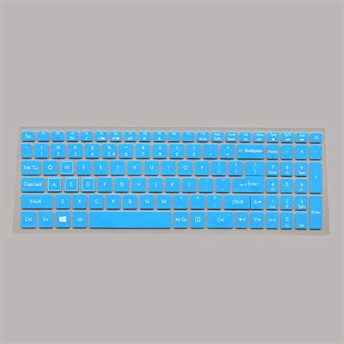 Keyboard Cover Protector Keyboard Protective Cover skin Protector for 15.6' Acer NITRO 5 AN515-52 AN515 AN5 VX 15 VX5-591G V 17 Gaming VN7-793G 17.3 Washable ,Reusable, (Color : Blue)