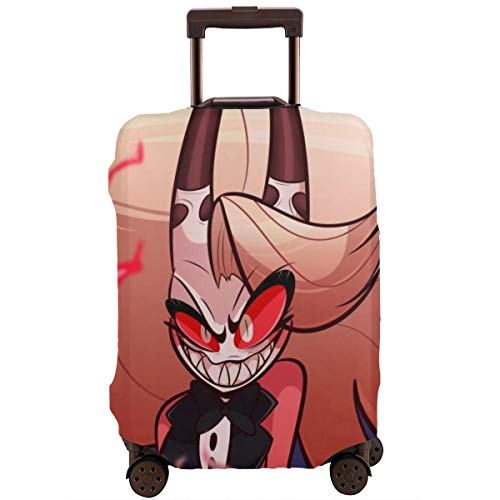 Travel Luggage Cover Anime Color Hazbin Hotel Suitcase Covers Protectors Zipper Washable Baggage Luggage Covers Fits L