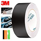 "EZAUTOWRAP EZ-Chrome-Delete-3M-Matte-Black-4""x50Ft"