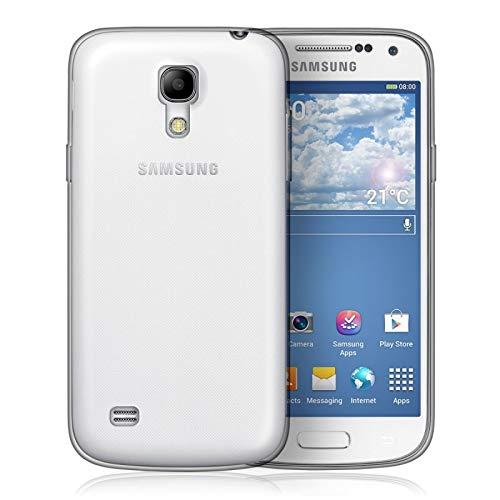 TAKEON Cover Trasparente per S4 Mini per Samsung Galaxy Morbida Gel Silicone
