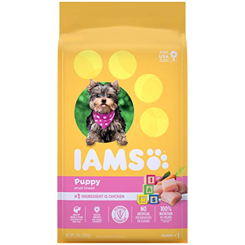 IAMS PROACTIVE HEALTH Small & Toy Breed Smart Puppy Dry Dog Food for Pugs
