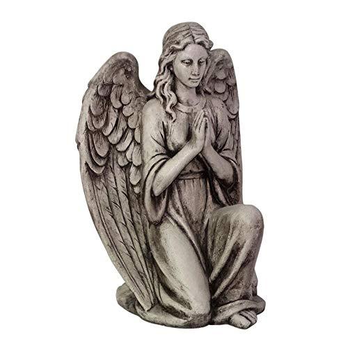 Decoraciones De Jardín Al Aire Libre Adornos De Paisaje De Arte De Jardín De ángeles Hermosos Europeos Retro- 38 * 32 * 57 Cm angel