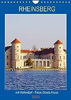 Rheinsberg mit Hafendorf (Wandkalender 2022 DIN A4 hoch): Kulturgenuss und Wasserspass in der romantischen Stadt in Brandenburg (Planer, 14 Seiten )