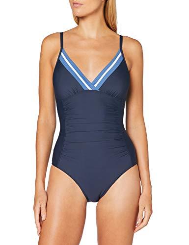 ESPRIT Bodywear Damen Miller Beach Padded Bandeau Swimsuit Badeanzug, 401, 42