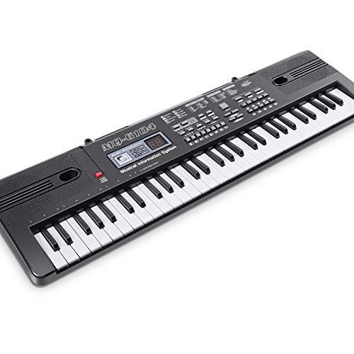 WOSTOO Kids Piano Keyboard, 61 Keys Multi-Function Electronic Kids Piano Keyboard...