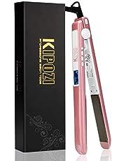 KIPOZI ヘアアイロンストレートカール 両用 海外対応 プロ仕様25mm 130-230℃温度調整 自動OFF