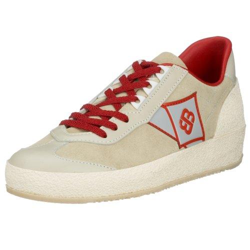 Brütting Road Runner 102401, Unisex - Erwachsene Sneaker,Beige,42 EU(8 UK)