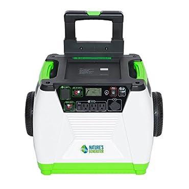 Nature's Generator 1800W Solar & Wind Powered Portable Generator